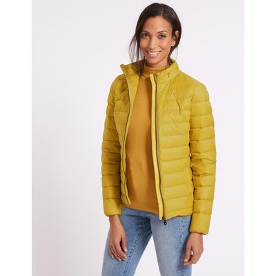 Lightweight Down & Feather Jacket winter lime