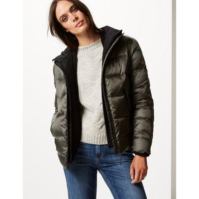 Double Layer Padded Jacket with Stormwear™ khaki