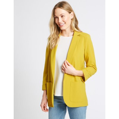 Patch Pocket Blazer ochre