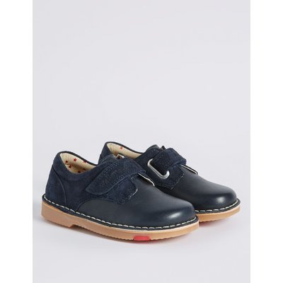 Kids' Leather Walkmates™ Driving Shoes  navy