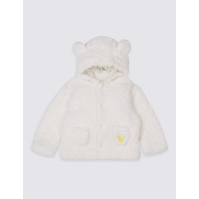Fleece Jacket winter white