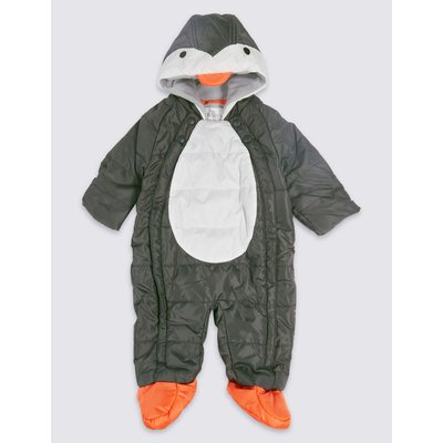 Penguin Snowsuit black mix