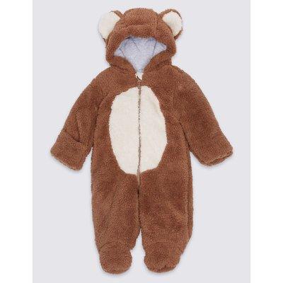 Monkey Long Sleeve Snowsuit brown mix