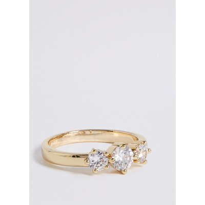 M&S Collection Gold Plated Sparkle Ring