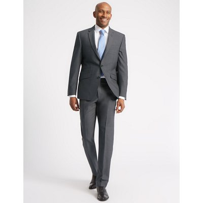 M&S Collection Grey Tailored Fit Jacket