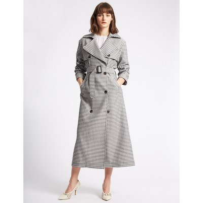 Limited Edition Gingham Trench Coat