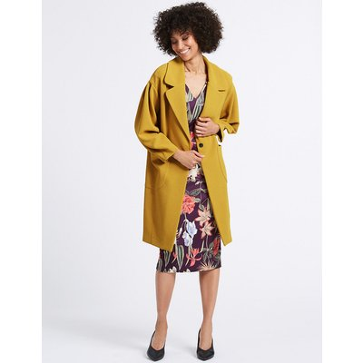 M&S Collection Single Breasted Coat