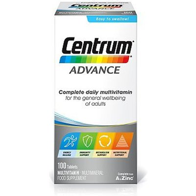 Centrum Complete from A to Zinc    100 Tablets - 5000309006531