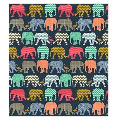 5052282070023   Elephants Navy Memo 7x5 Slip In 140 photos