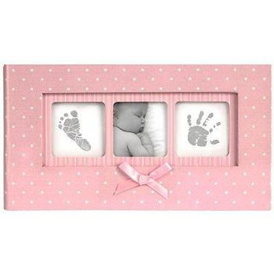 5052282070252   Baby Memo Album Pink Polka