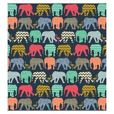 5052282070016   Elephants Navy Memo 6x4 Slip In Album 140 photos