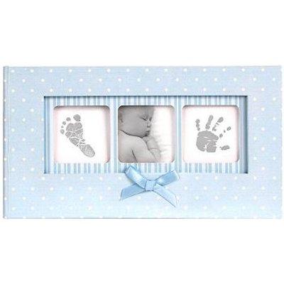 5052282070269   Baby Memo Album Blue Polka