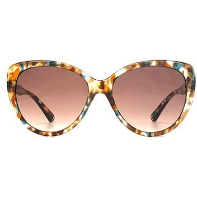 French Connection Womens Multi Coloured Tort Cateye Sunglasses - 5027108711244