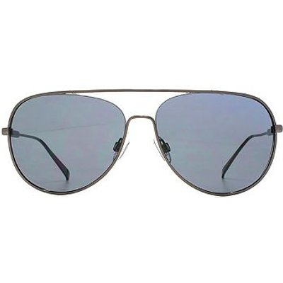 French Connection Mens Chunky Metal Aviator Sunglasses - 5027108711589