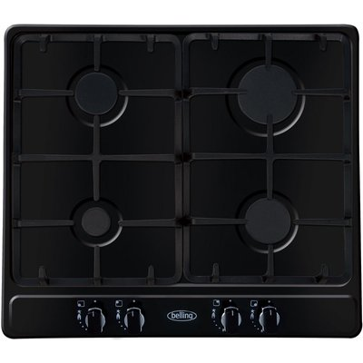 5052263006713 | Belling Ghu60GC 4 Burner Gas Hob   Black
