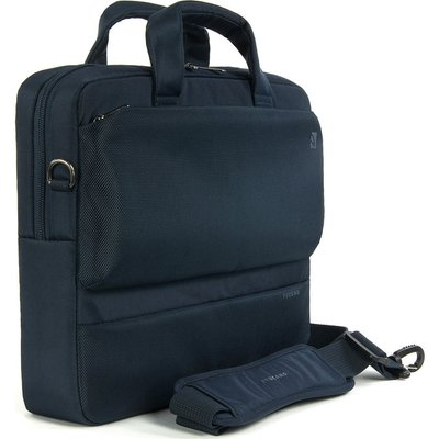TUCANO  Dritta Slim 14 Laptop Bag   Blue  Blue - 8020252011410