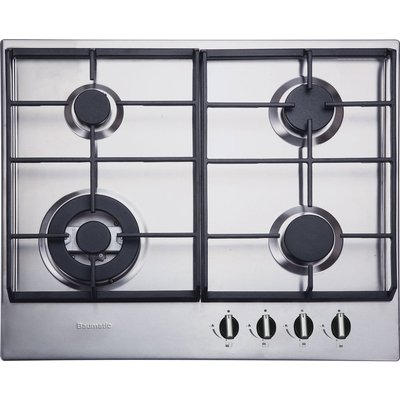 5055205065786 | Baumatic BHG625SS gas hobs  in Stainless Steel