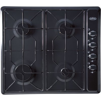 5034700494680 | Belling GHU60GE 4 Burner Gas Hob   Black