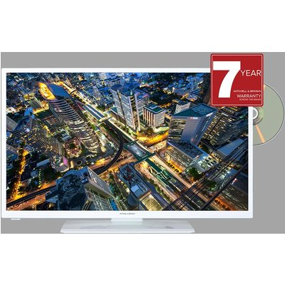 JB-321811FDVDWHT 32 inch HD Ready TV with DVD Player - White