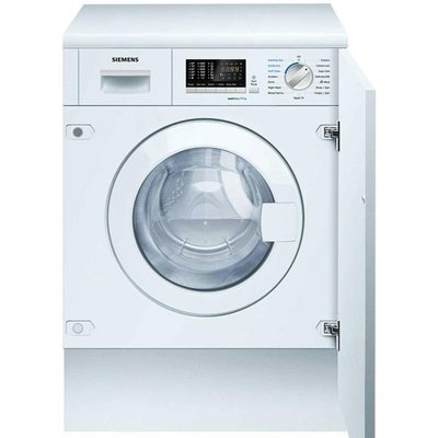 4242003722664 | Siemens iQ500 WK14D540GB Integrated Washer Dryer  7kg Wash 4kg Dry Load  B Energy Rating  1400rpm Spin