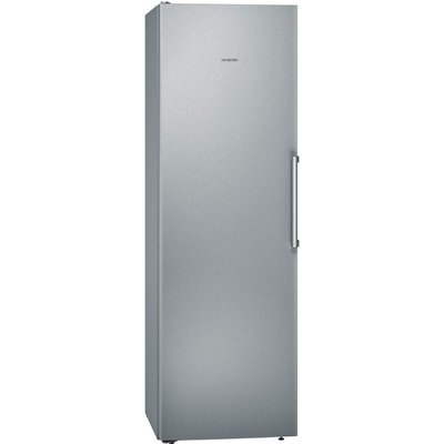 iQ300 KS36VVI3VG 346L A   Single Door Fridge   Stainless Steel - 4242003811597