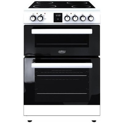Belling 60cm Electric Double Oven Cooker in Stainless Steel FSE608DPC  444444800 5052263048003