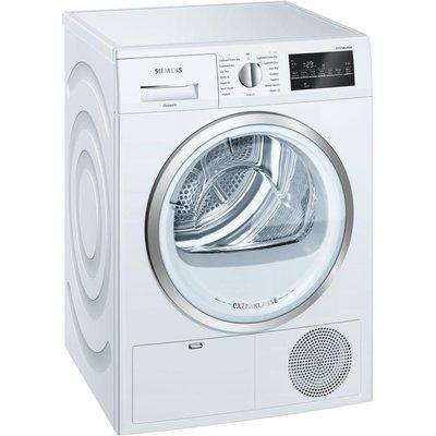 Siemens extraKlasse WT46G491GB 9kg Condenser Tumble Dryer   White - 4242003803288