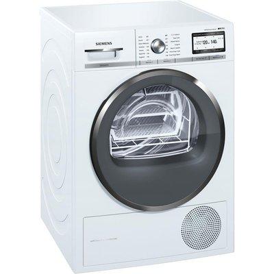 iQ700 WT4HY791GB 9Kg Heat Pump Home Connect Condenser Tumble Dryer - 4242003832455