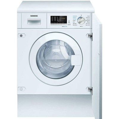 Siemens iQ500 WK14D540GB Integrated Washer Dryer  7kg Wash 4kg Dry Load  B Energy Rating  1400rpm Spin - 4242003722664