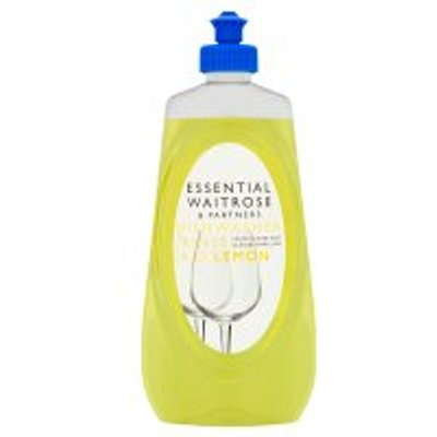 05000169284667 | essential Waitrose lemon dishwasher rinse aid