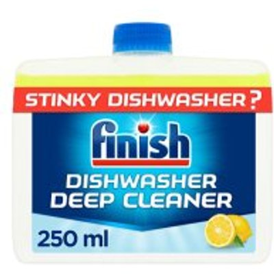 05011417548523: Finish Dishwasher Cleaner Lemon  250ml