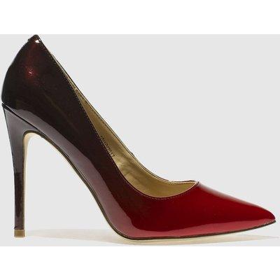 Schuh Black & Red Flirty High Heels