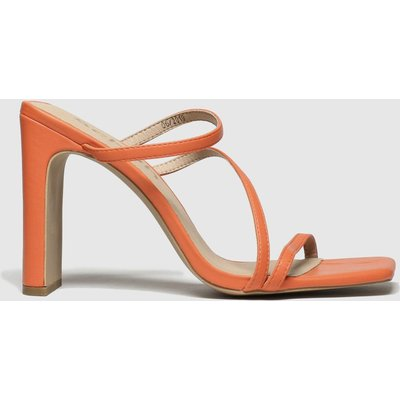 Schuh Orange Newsflash High Heels