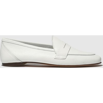 Schuh White Impact Flat Shoes