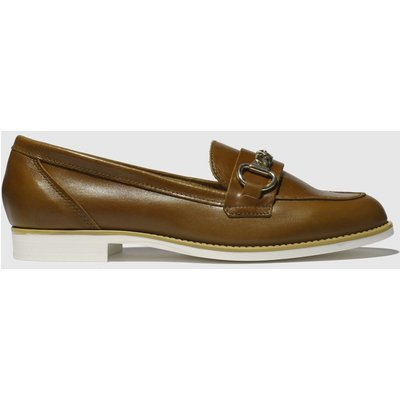 Schuh Tan Eternity Flat Shoes