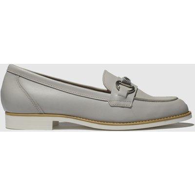 Schuh Light Grey Eternity Flat Shoes