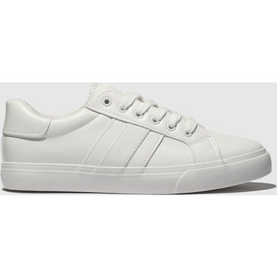 Schuh White Mash Up Trainers