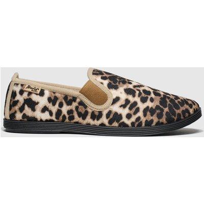 Blowfish Brown & Black Gadget Flat Shoes
