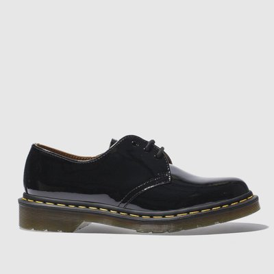 Dr Martens Black 1461 Flat Shoes