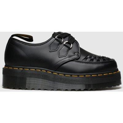 Dr Martens Black Sidney Flat Shoes