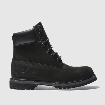 Timberland Black 6 Inch Premium Boots