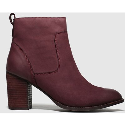 Schuh Burgundy Cosmo Boots