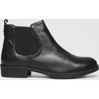 Schuh Black Release Boots
