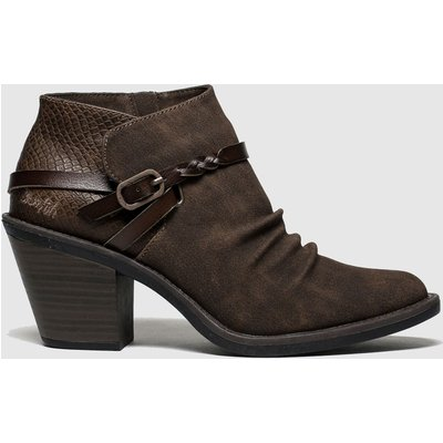 Blowfish Brown Lama Vegan Boots