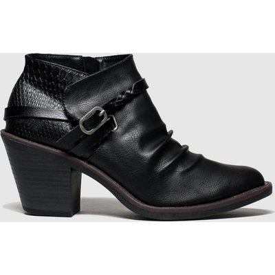 Blowfish Black Lama Vegan Boots
