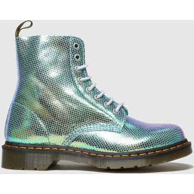 Dr Martens Turquoise 1460 Pascal Duo Chrome Boots