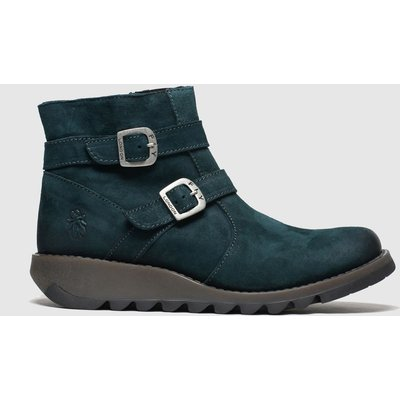 Fly London Turquoise Serz Boots