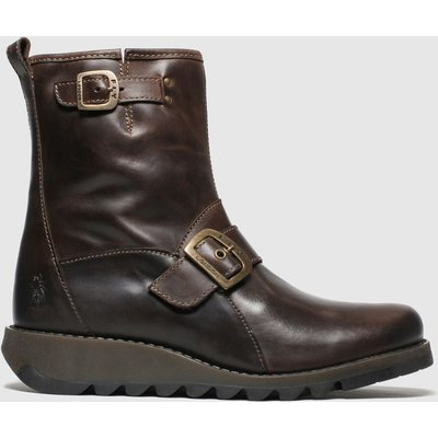 Fly London Brown Sino Boots