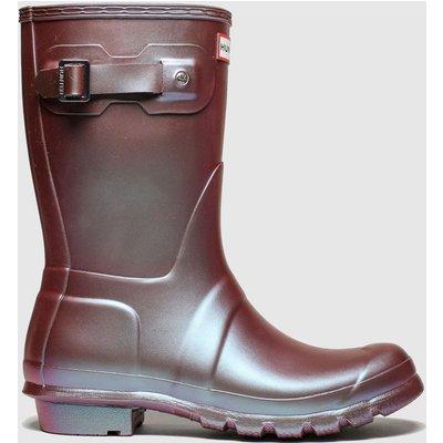 Hunter Pink Original Short Nebla Boots