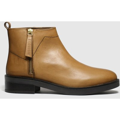 Red Or Dead Tan Bob Boots